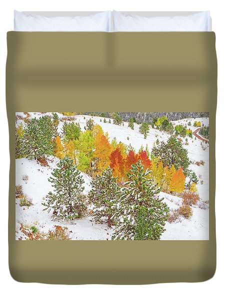 Colorado Is Stunningly Beautiful. Here's One Example Among Countless Others.  Duvet Cover