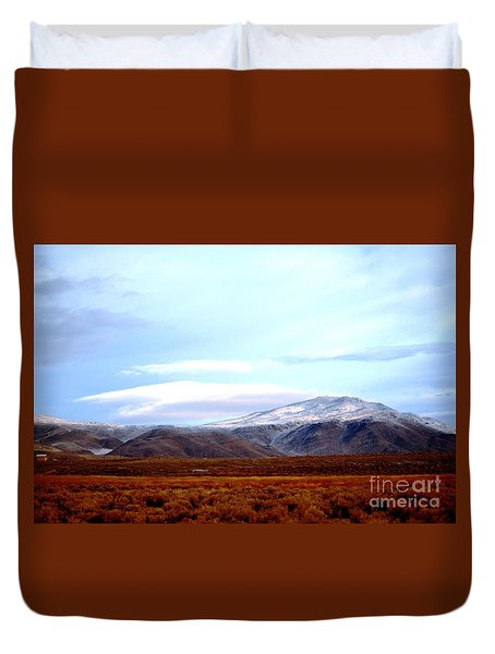 Colorado Mountain Vista Duvet Cover