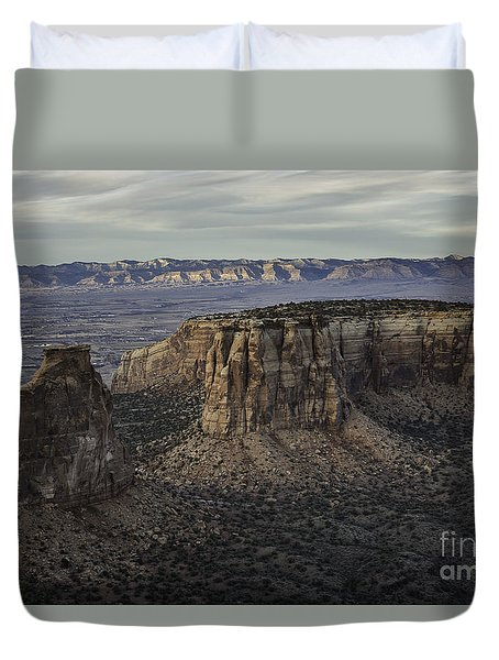 Colorado National Monument 2 Duvet Cover