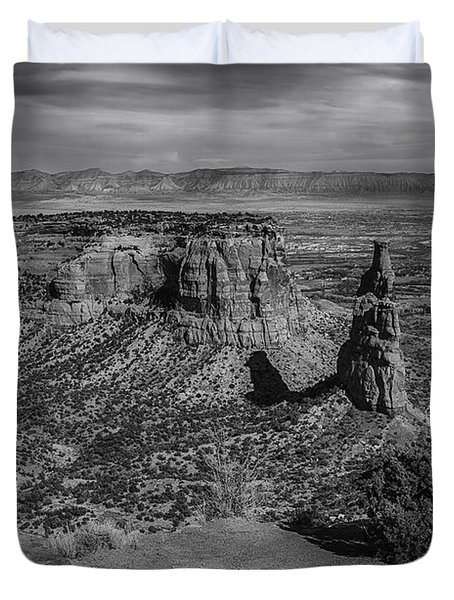 Colorado National Monument Duvet Cover