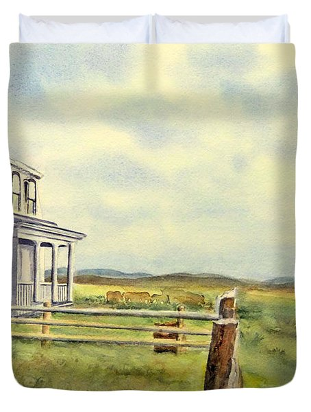 Colorado Ranch Duvet Cover