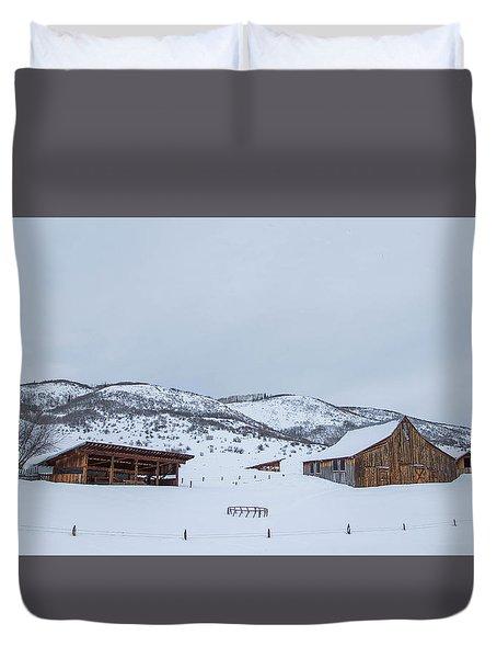 Colorado Ranch Duvet Cover