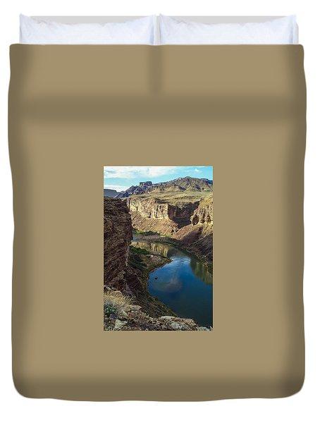 Colorado River Grand Canyon National Park Duvet Cover