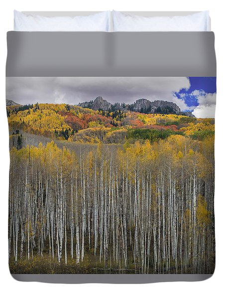 Colorado Splendor Duvet Cover by Gary Lengyel