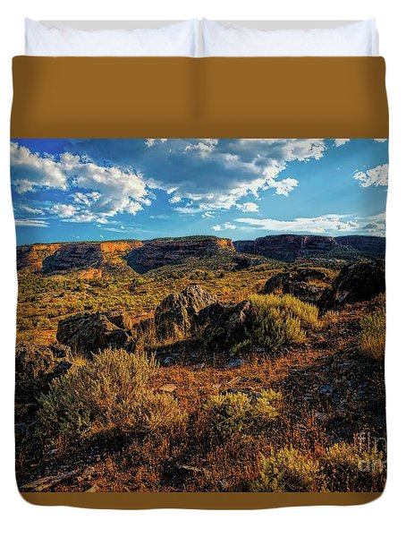 Colorado Summer Evening Duvet Cover