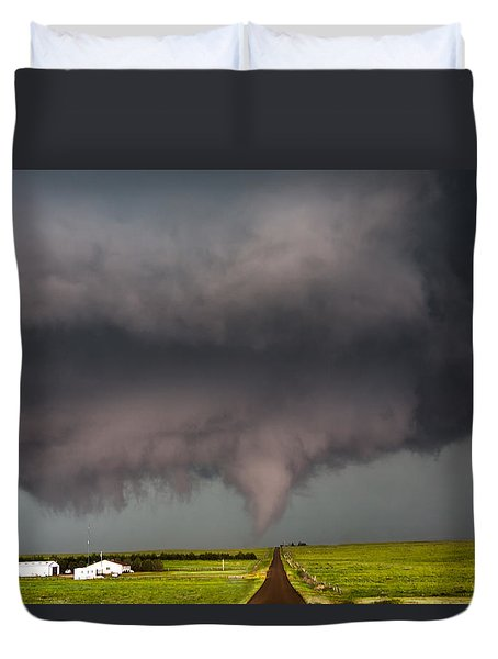 Colorado Tornado 2 Duvet Cover