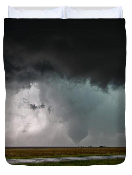 Colorado Tornado Duvet Cover