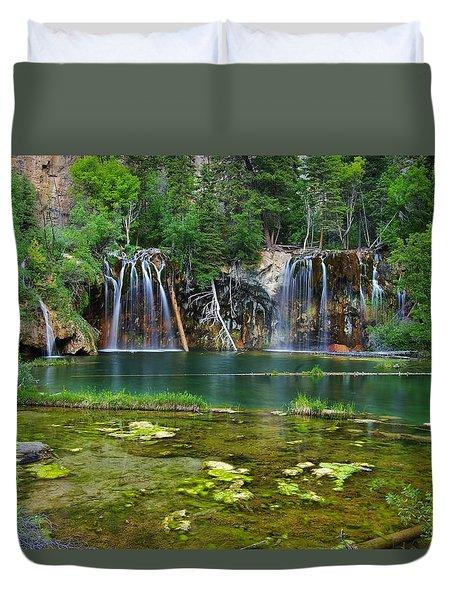 Colorado Tropics Duvet Cover