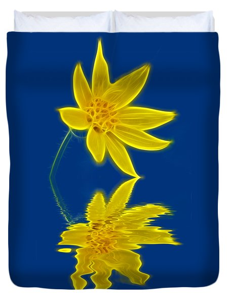 Colorado Wildflower Duvet Cover