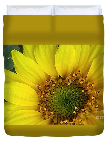 Colorado Wildflower Sunshine  Duvet Cover