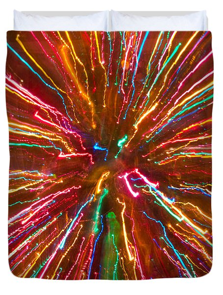 Colorful Abstract Photography Duvet Cover by James BO  Insogna