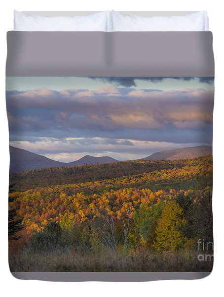 Colorful Autumn Duvet Cover by Alana Ranney