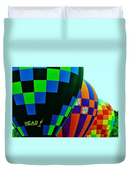 Colorful Balloons Duvet Cover