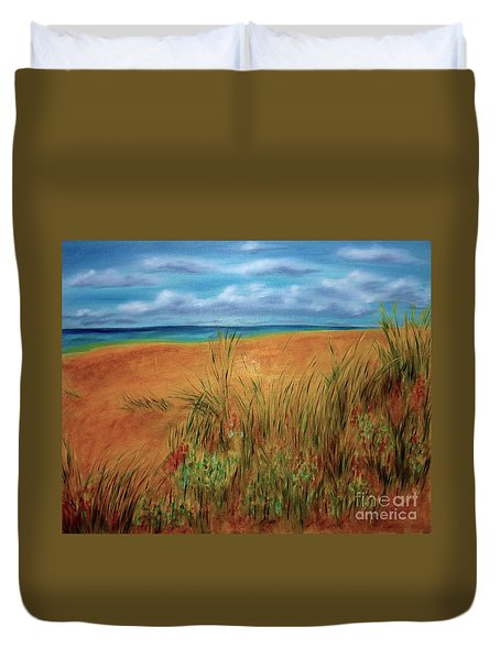 Colorful Beach Duvet Cover