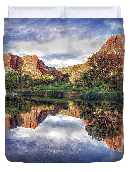 Colorful Colorado Duvet Cover