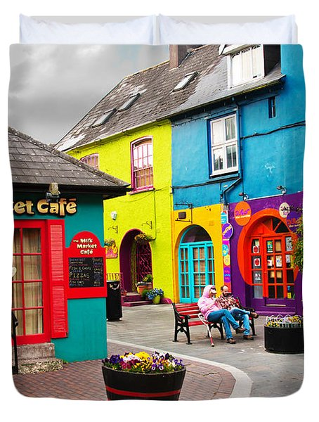 Colorful Corner Duvet Cover