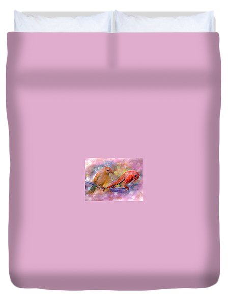 Colorful Day Duvet Cover