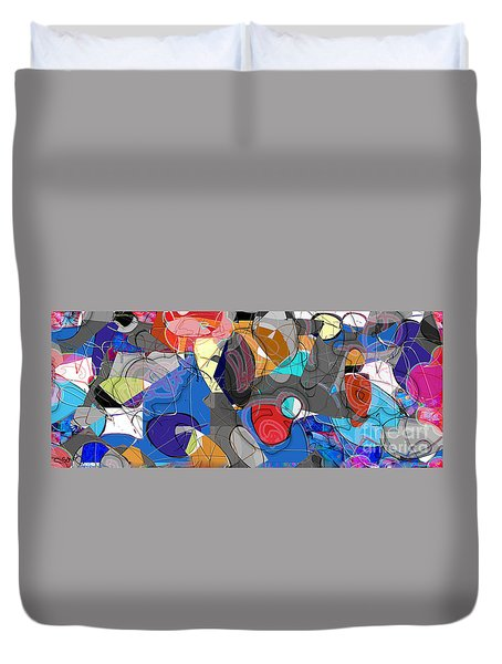 Colorful Daydream Duvet Cover