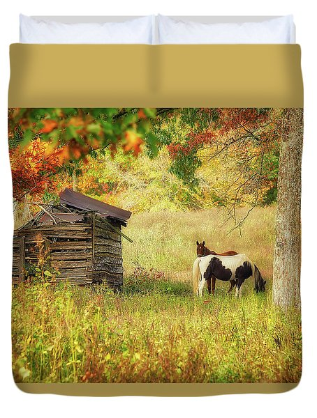 Colorful Display Duvet Cover