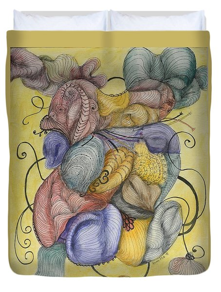 Colorful Dreams Duvet Cover