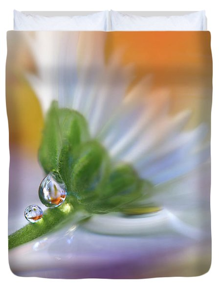 Colorful Explosion... Duvet Cover by Juliana Nan
