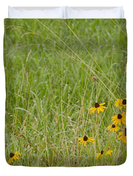 Colorful Field Duvet Cover