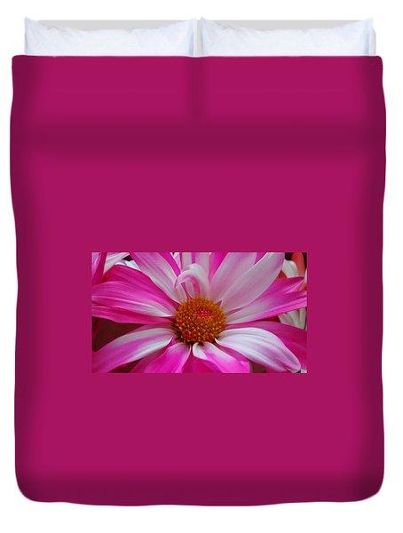 Colorful Flower Duvet Cover by Dustin Soph