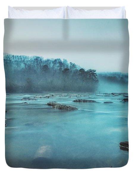 Colorful Fog Duvet Cover