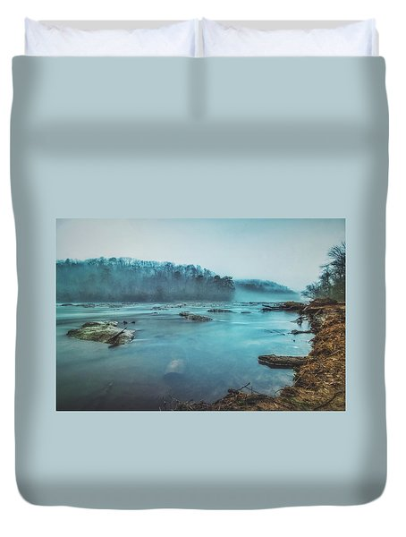 Colorful Fog Duvet Cover