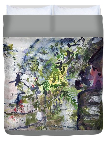 Colorful Foliage Duvet Cover