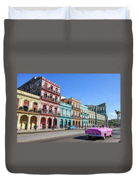Colorful Havana Duvet Cover