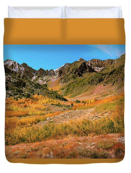 Colorful Mcgee Creek Valley Duvet Cover