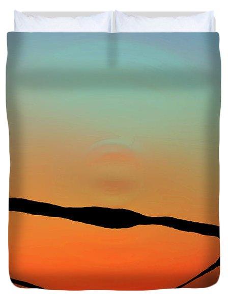 Colorful Modern Art - Eternal Light 2 - Sharon Cummings Duvet Cover