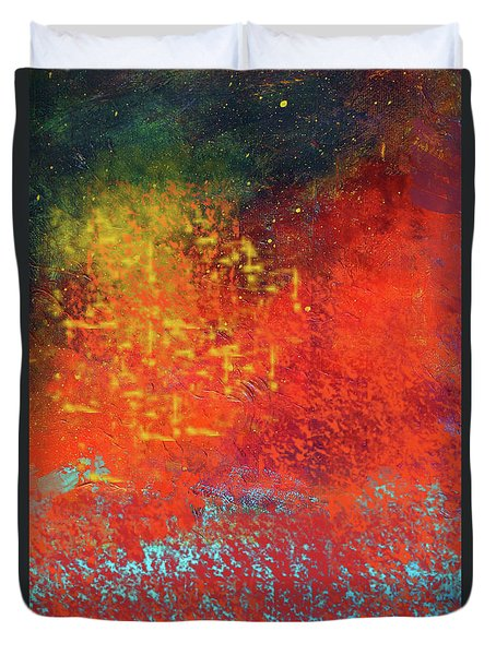Colorful Night Duvet Cover
