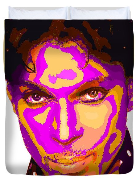 Colorful Prince - Purple Duvet Cover