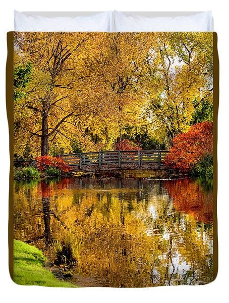Colorful Reflections Duvet Cover