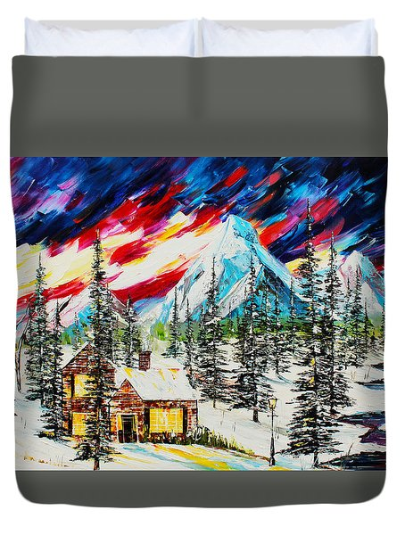 Colorful Sky Duvet Cover