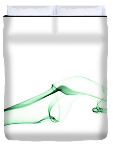 Colorful Smoke II - Rgb Triptych Duvet Cover