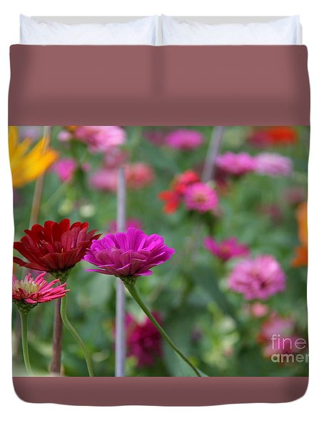 Colorful Summer Duvet Cover by Yumi Johnson