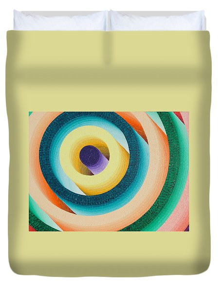 Colorful Tunnel Duvet Cover