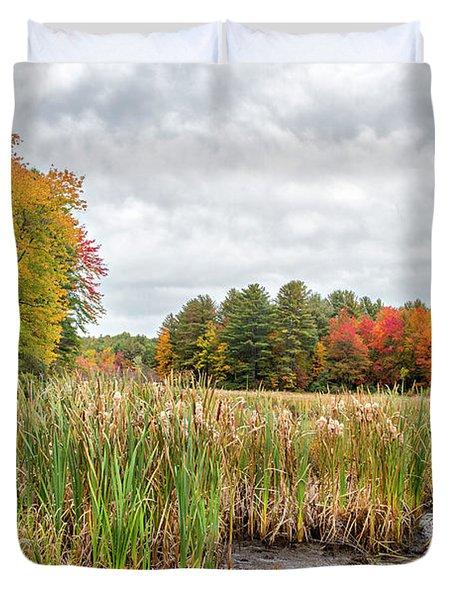 Colorful Webster Bog Duvet Cover