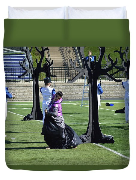 Colorguard Competition Duvet Cover