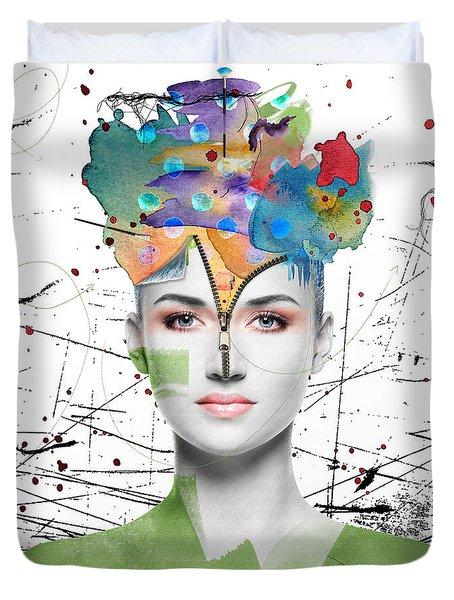 Colorist Duvet Cover by Nola Lee Kelsey