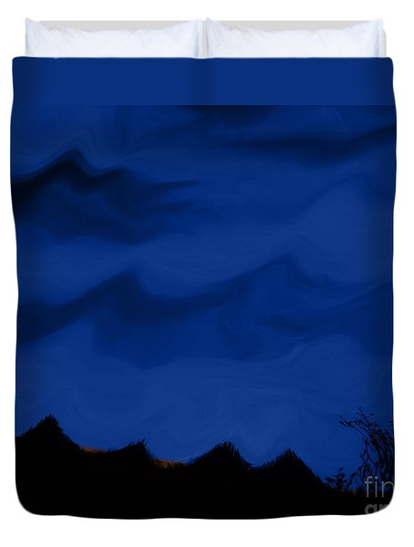 Colors At Dusk3 Duvet Cover