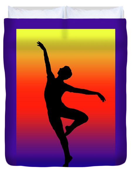 Colors Dance Duvet Cover