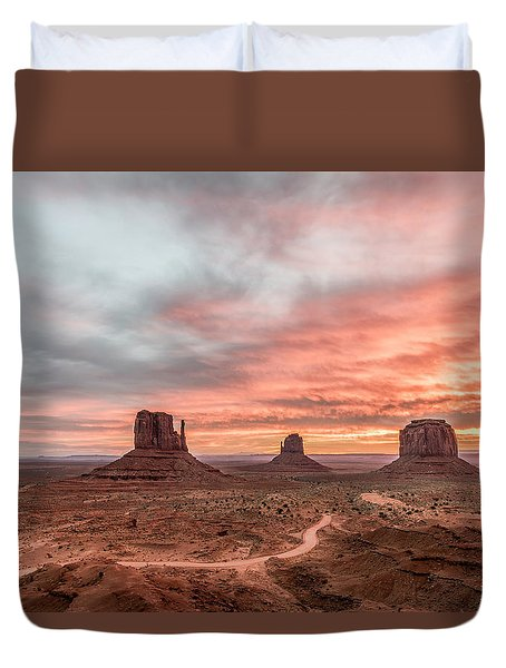 Colors In Monument Duvet Cover