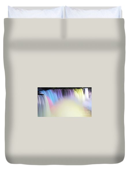 Colors Duvet Cover by Kathleen Struckle