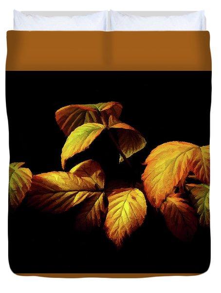 Colors Of Autumn Memories  Duvet Cover by David Dehner