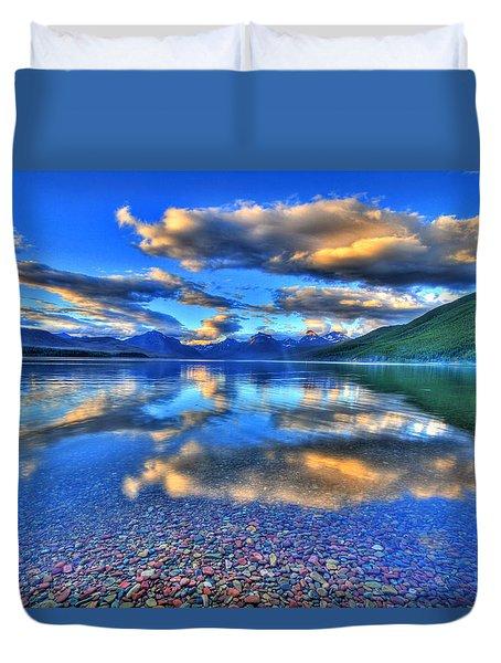 Colors Of Clouds Duvet Cover by Scott Mahon