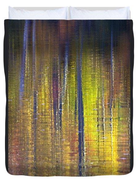 Colors Of Fall 01 Duvet Cover